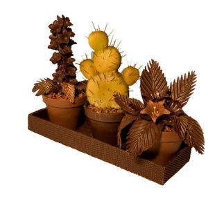 chocoladen bloempot