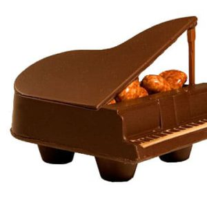 piano in chocolade