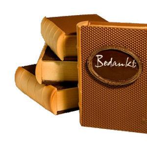 chocolade bedanking boek