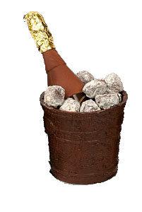 Chocolade ijsemmer