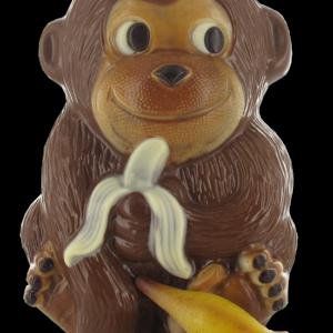 Aap met bananen