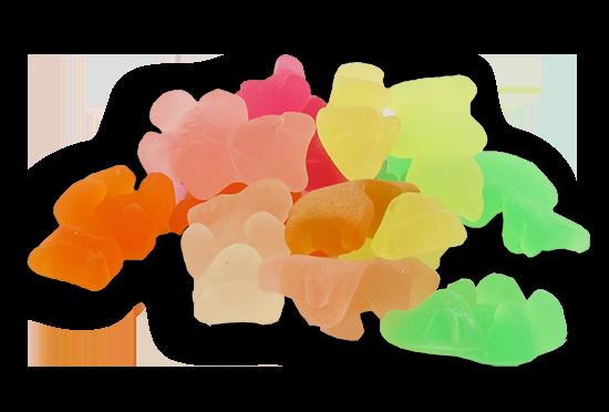 snoepjes zonder toegevoegde suikers