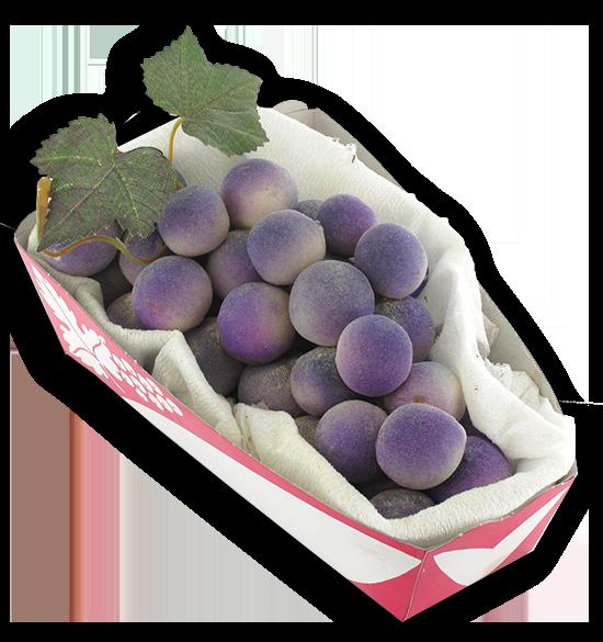 Druiven in marsepein
