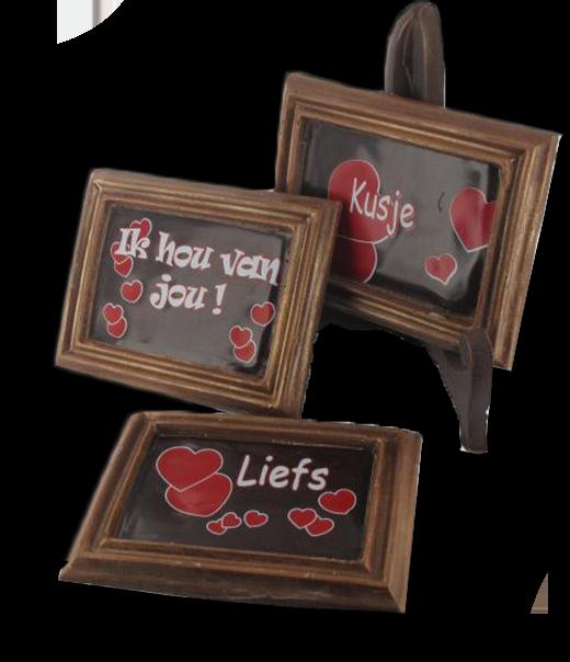 Bedrukte kadertjes voor Valentijn