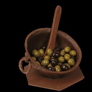 mengkom met olijven