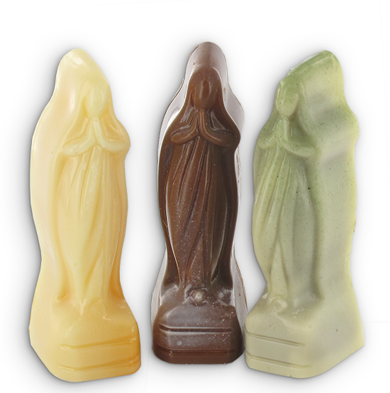 Onze lieve vrouwtjes in chocolade